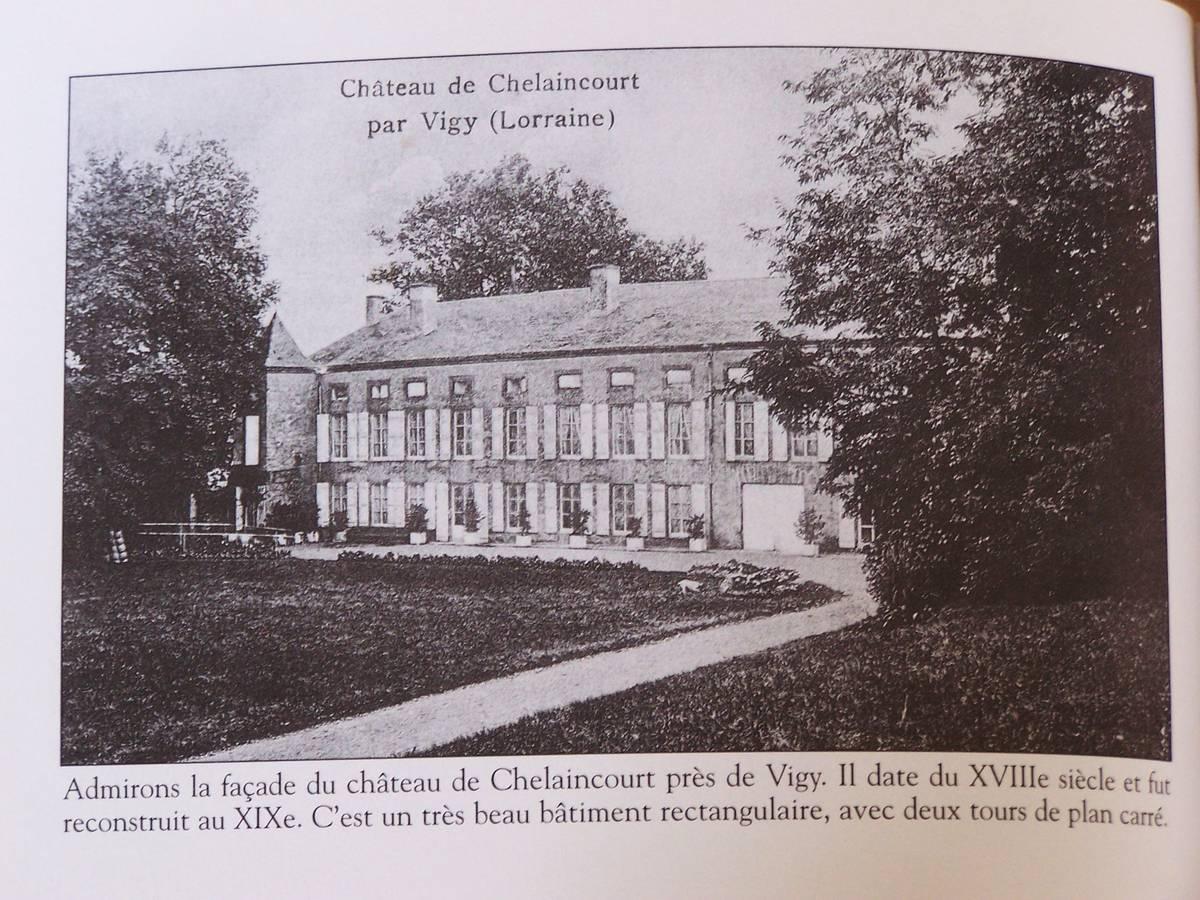 Le Château de Chelaincourt